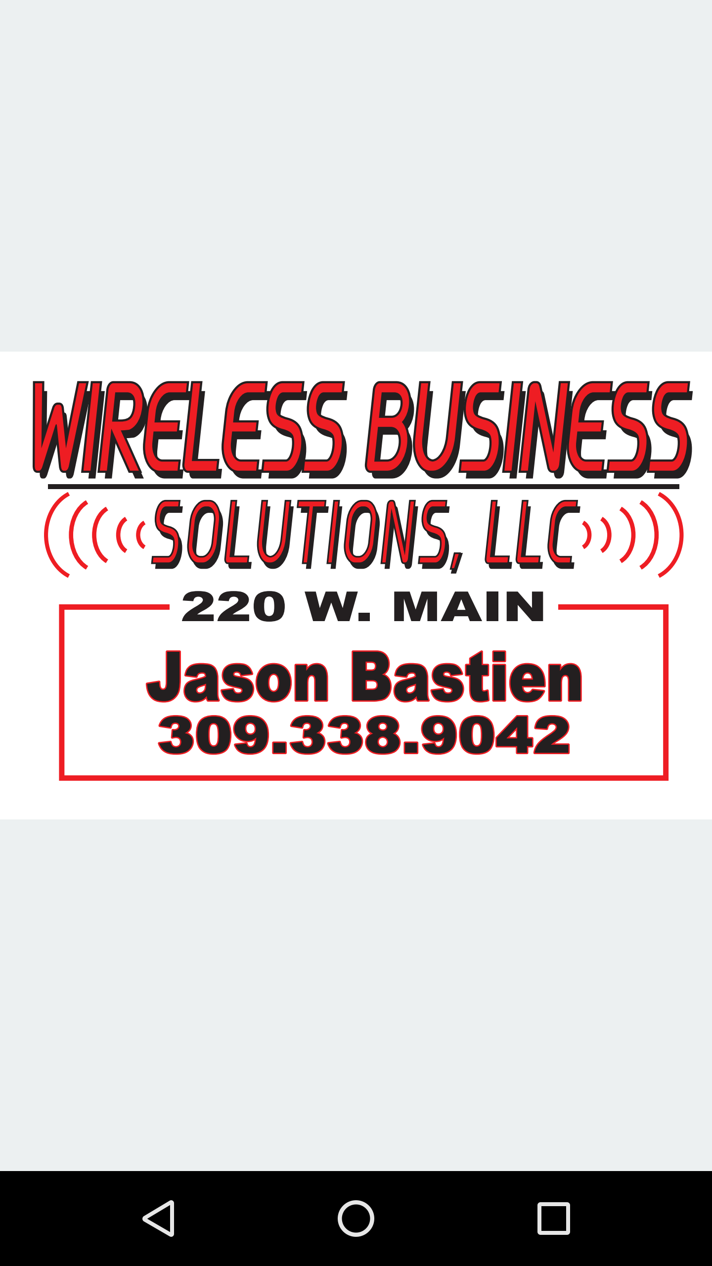 Wireless Business Solutions