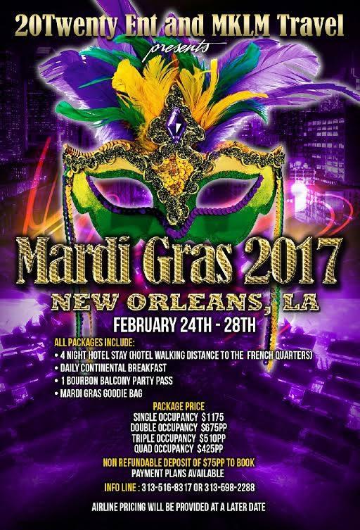 Mardi Gras 2017 Tickets, Fri, Feb 24, 2017 at 3:00 PM ...