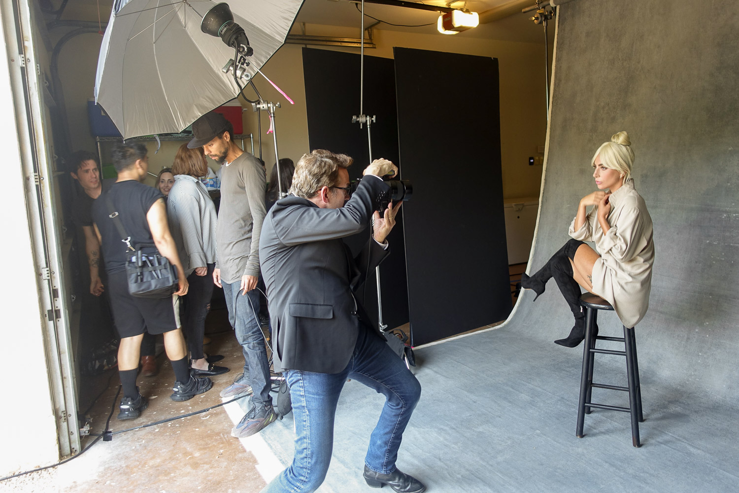 Behind the scenes with Art Streiber and Lady Gaga