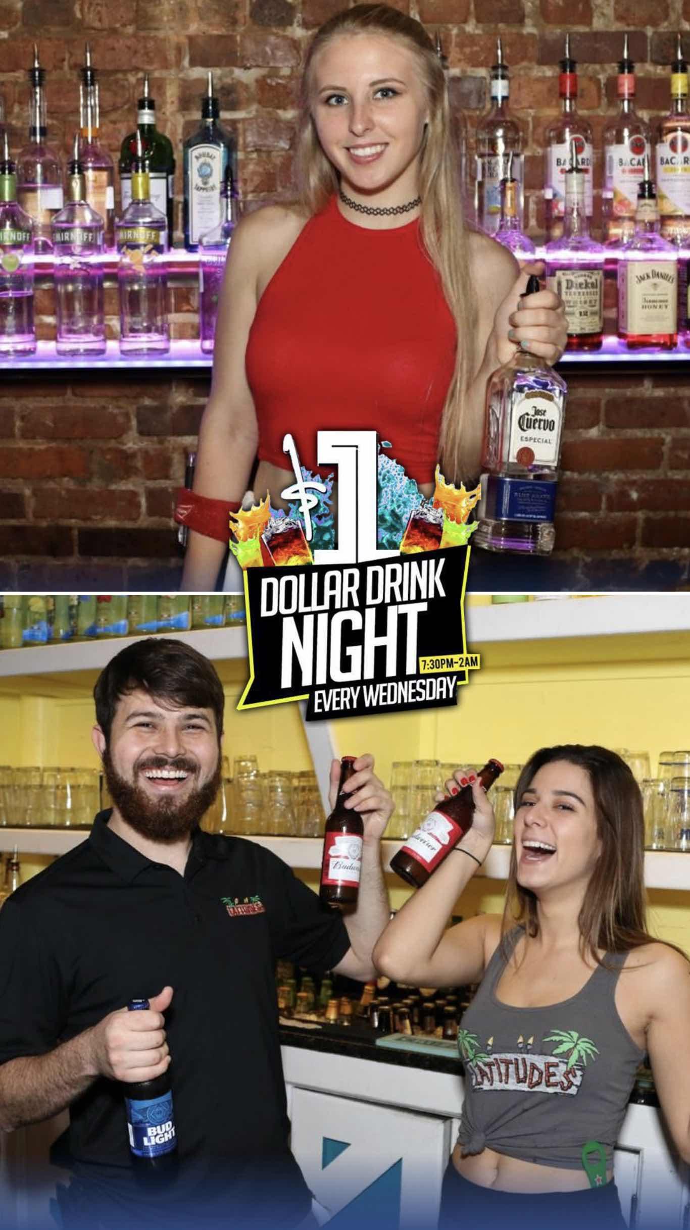 Dollar Drink Wednesdays