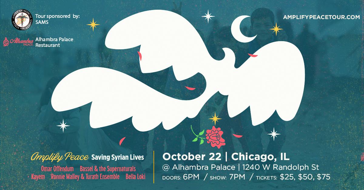 Amplify Peace Tour Chicago