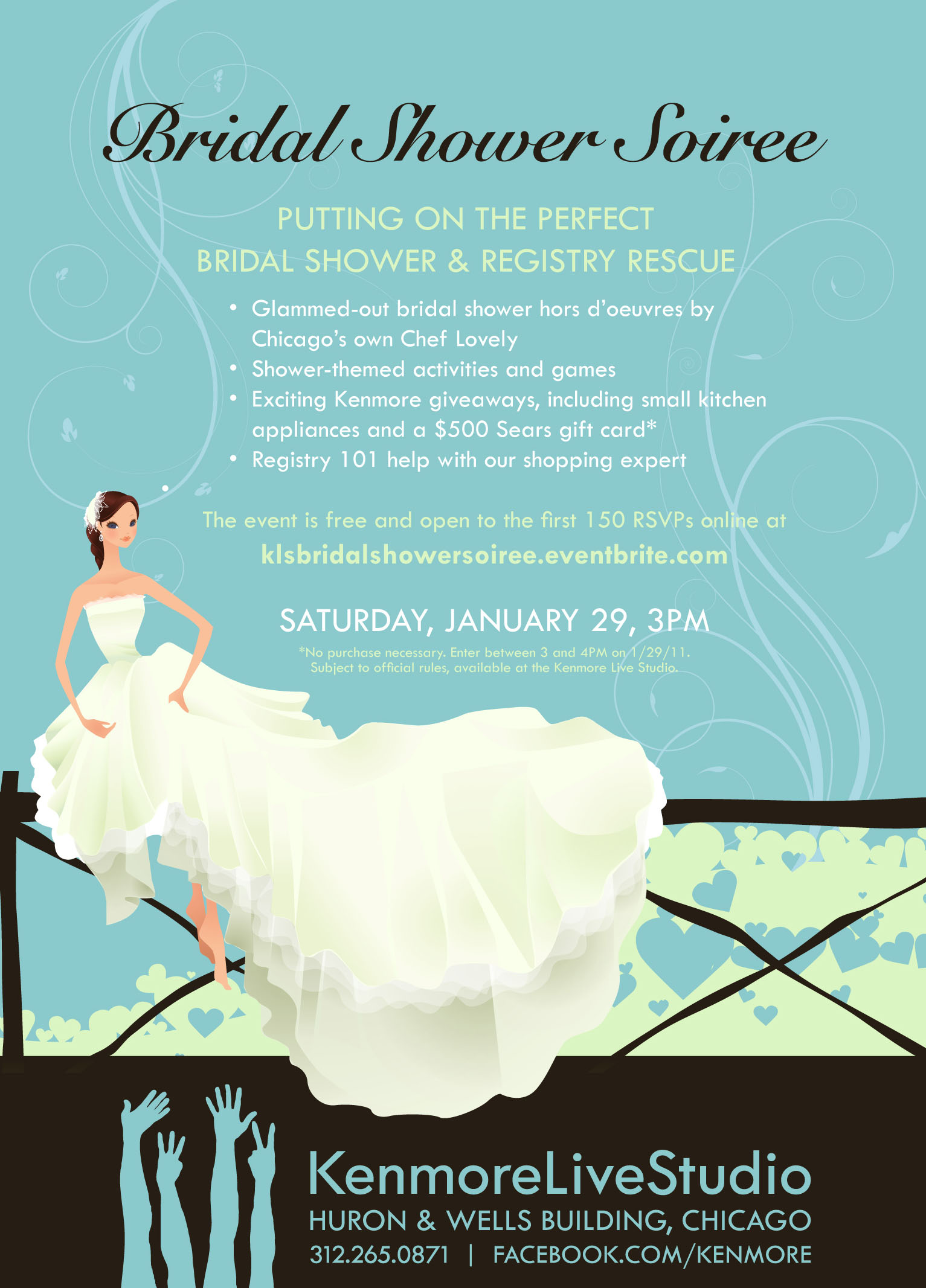 Great Wedding Gift Message : Bridal Shower Soiree at the Kenmore Live Studio Tickets, Sat, Jan 29 ...