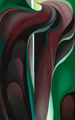 Georgia O'Keeffe, Jack-in-Pulpit Abstraction - No. 5
