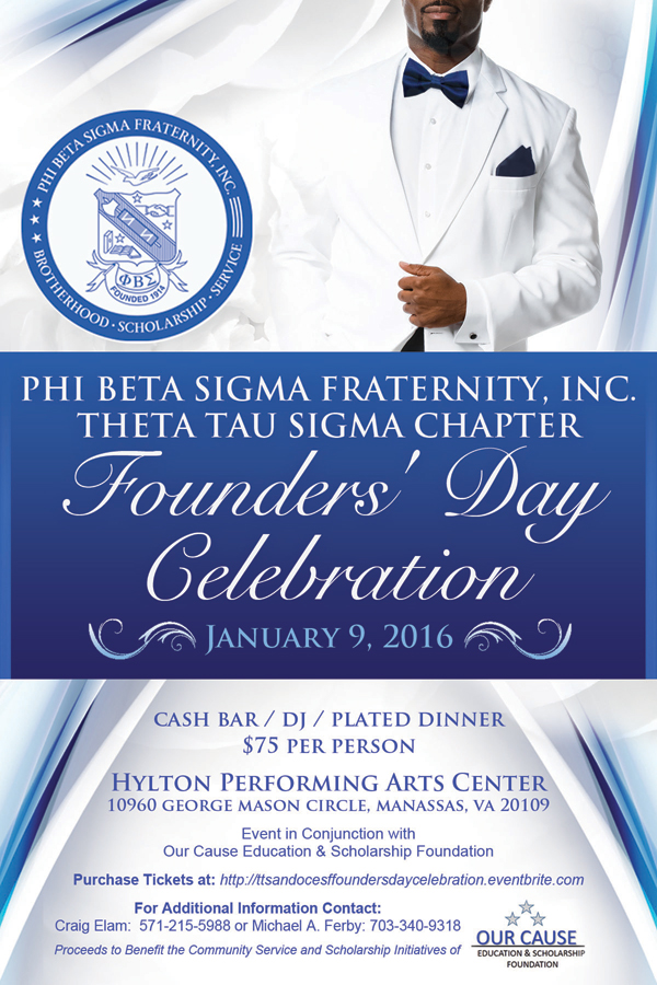 Phi Beta Sigma Founders Day 2016
