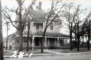 Denton Historic home 723 Oak 1946
