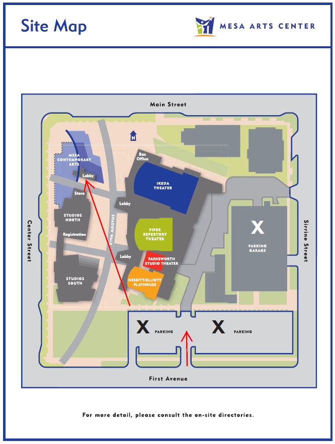 Location Site Map