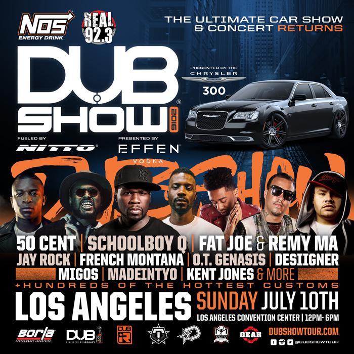 DUB Show LA 2016 July 10 2016