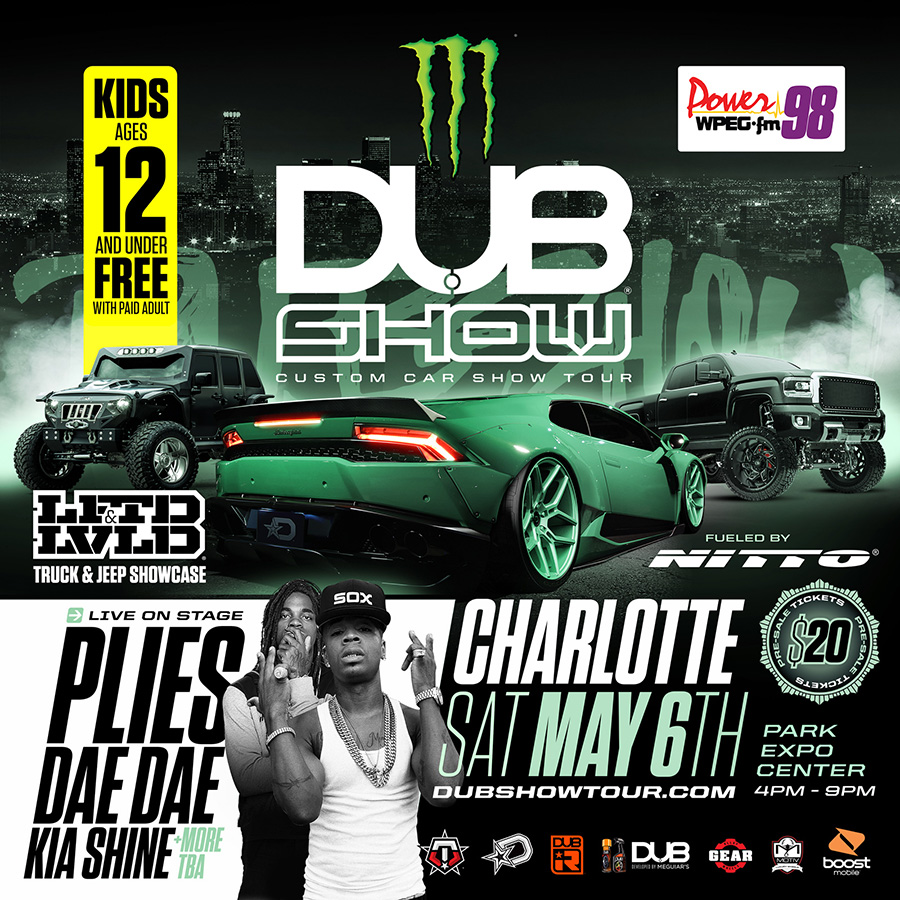 Charlotte Dub Show 2017 Tickets Sat May 6 2017 At 4 00 Pm