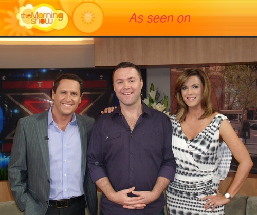 Scott Woolford on The Morning Show