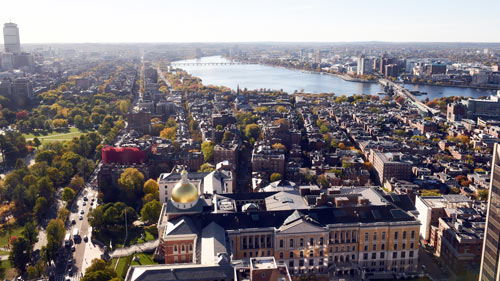 View from the UMASS Club