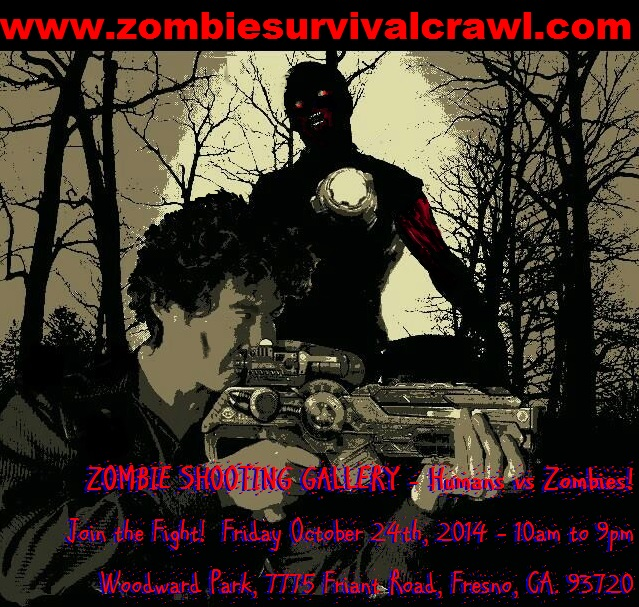 Survivalist Shooting Zombie @ ZOMBIE SURVIVAL CRAWL