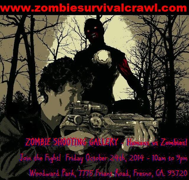 Survivalist Shooting Zombie @ ZOMBIE SURVIVAL CRAWL