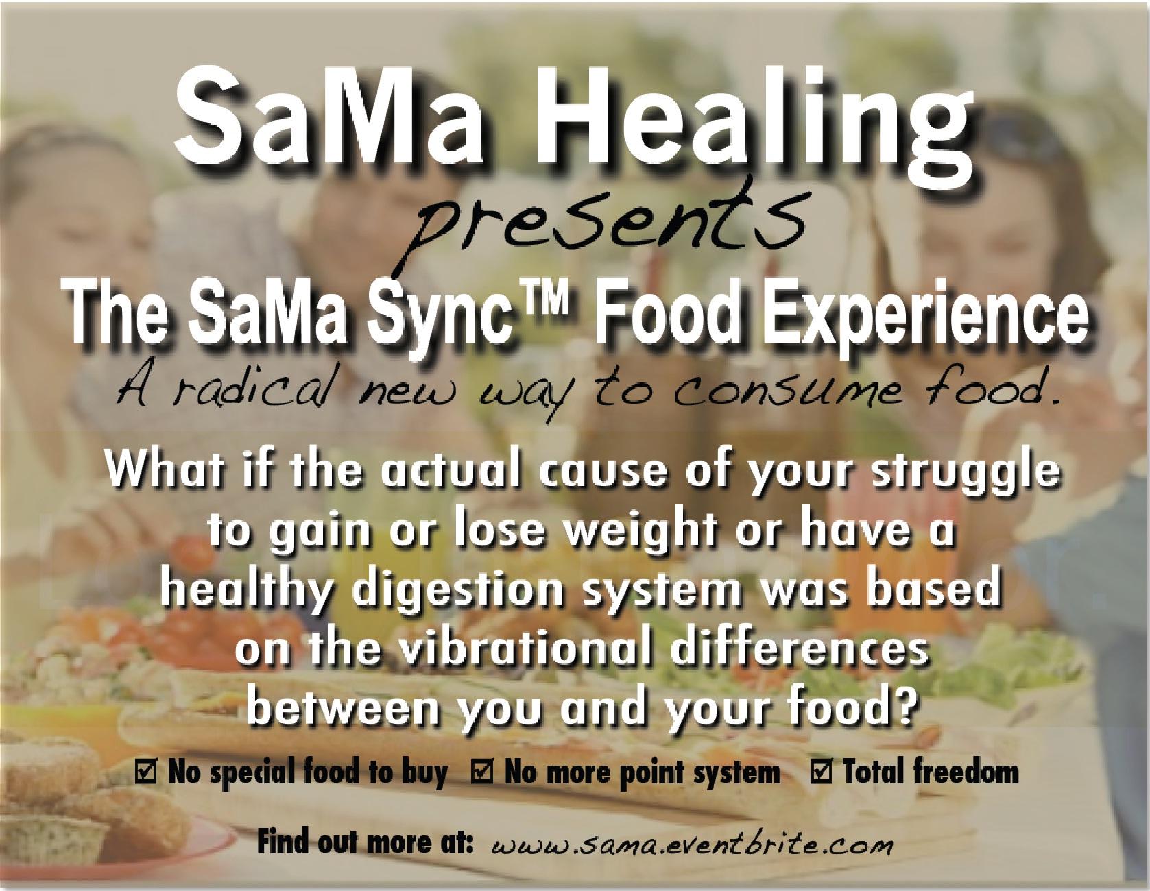Sama Flyer Front
