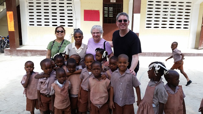 Haiti Ministry members at Ste. Therese