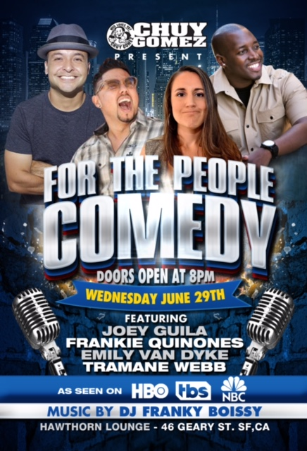 For the People Comedy @ Hawthorn 6/29/16