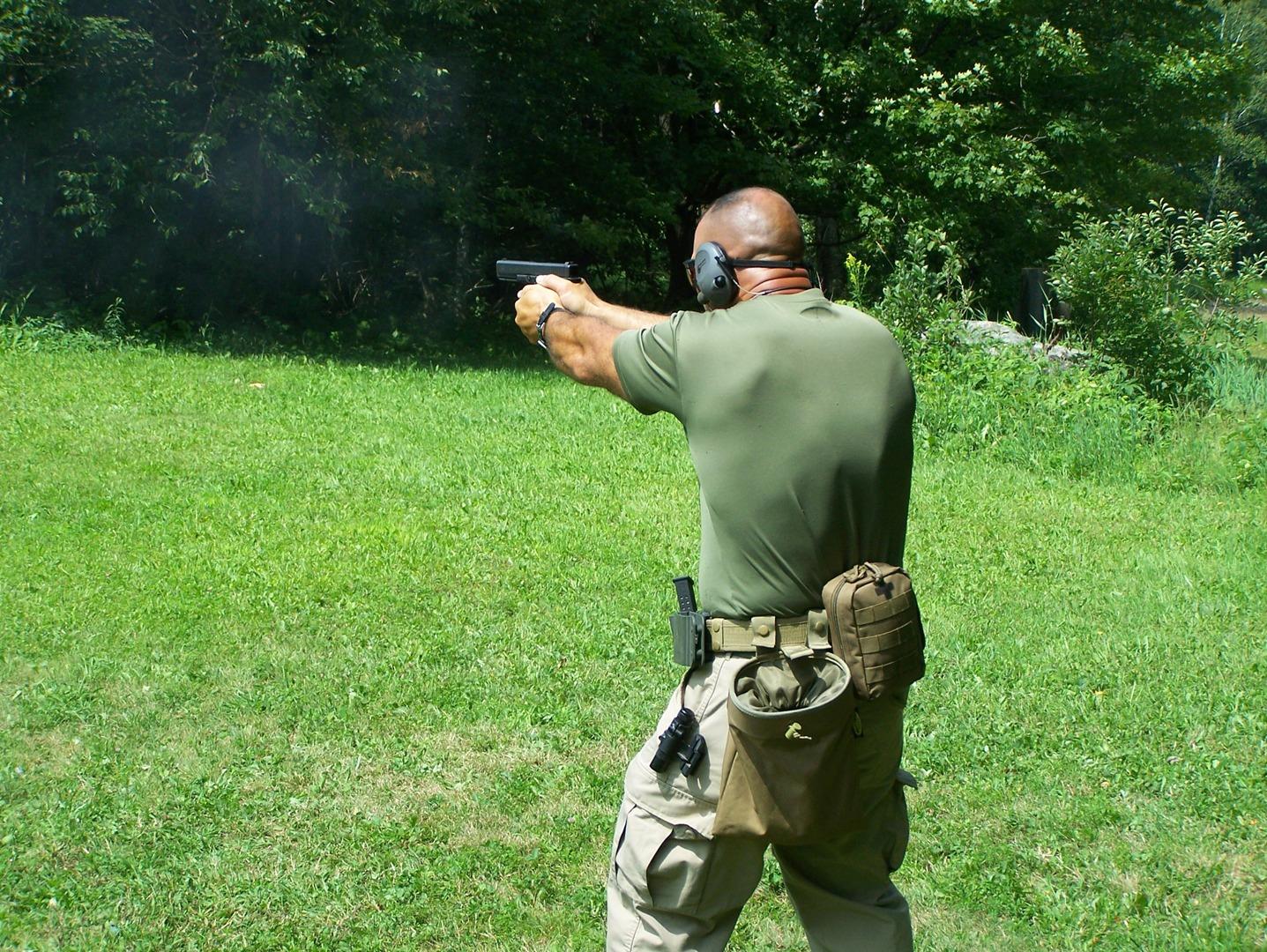 COMBAT PISTOL with Jake Pelletier / Raven Firearms Training