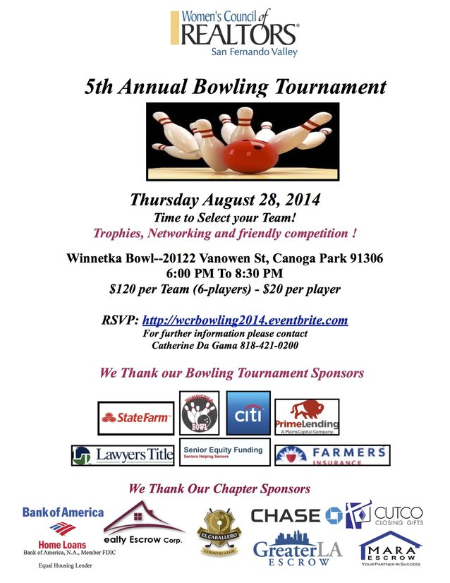 5th Annual Bowling Tournament