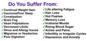 Hormone Imbalance Symptoms