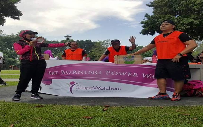 POWER WALK: SURIA MOHD & BOOT CAMP INSTRUCTORS