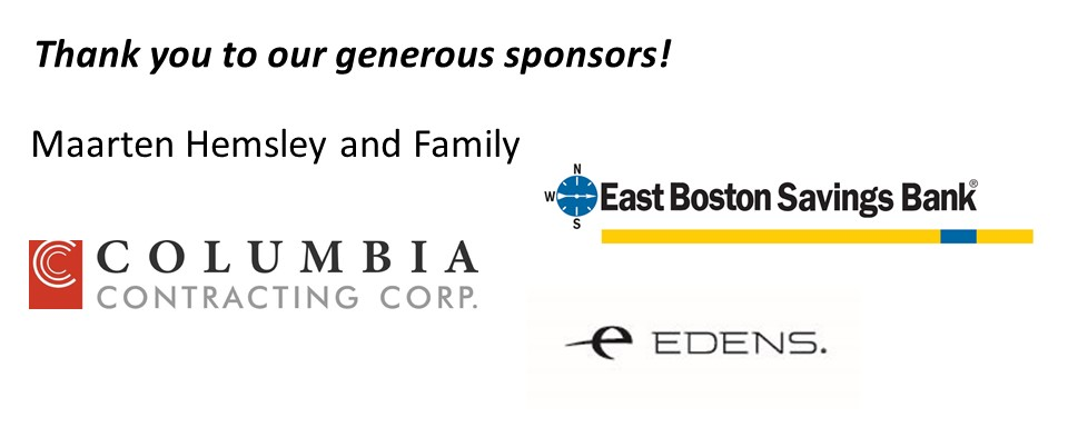 Thank you to our generous sponsors