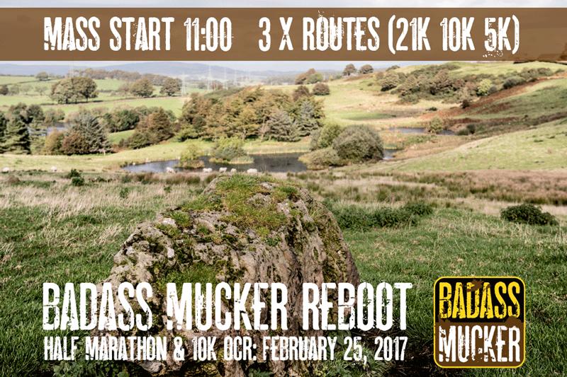 Mass start feb 25 Badass Mucker Reboot