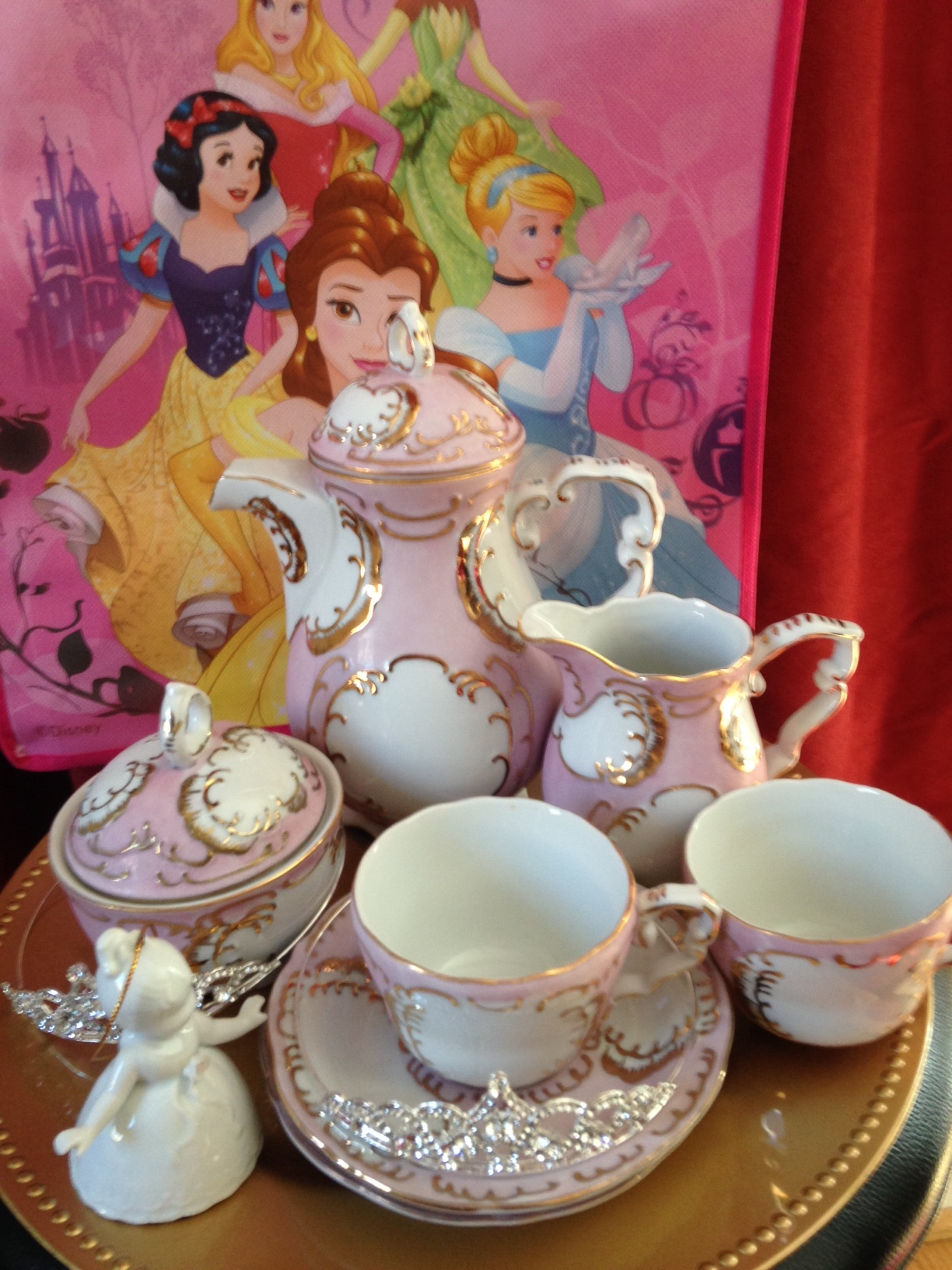 Princess Pink Tea Set