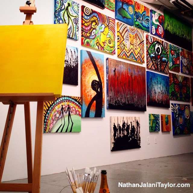 Nathan art studio 1