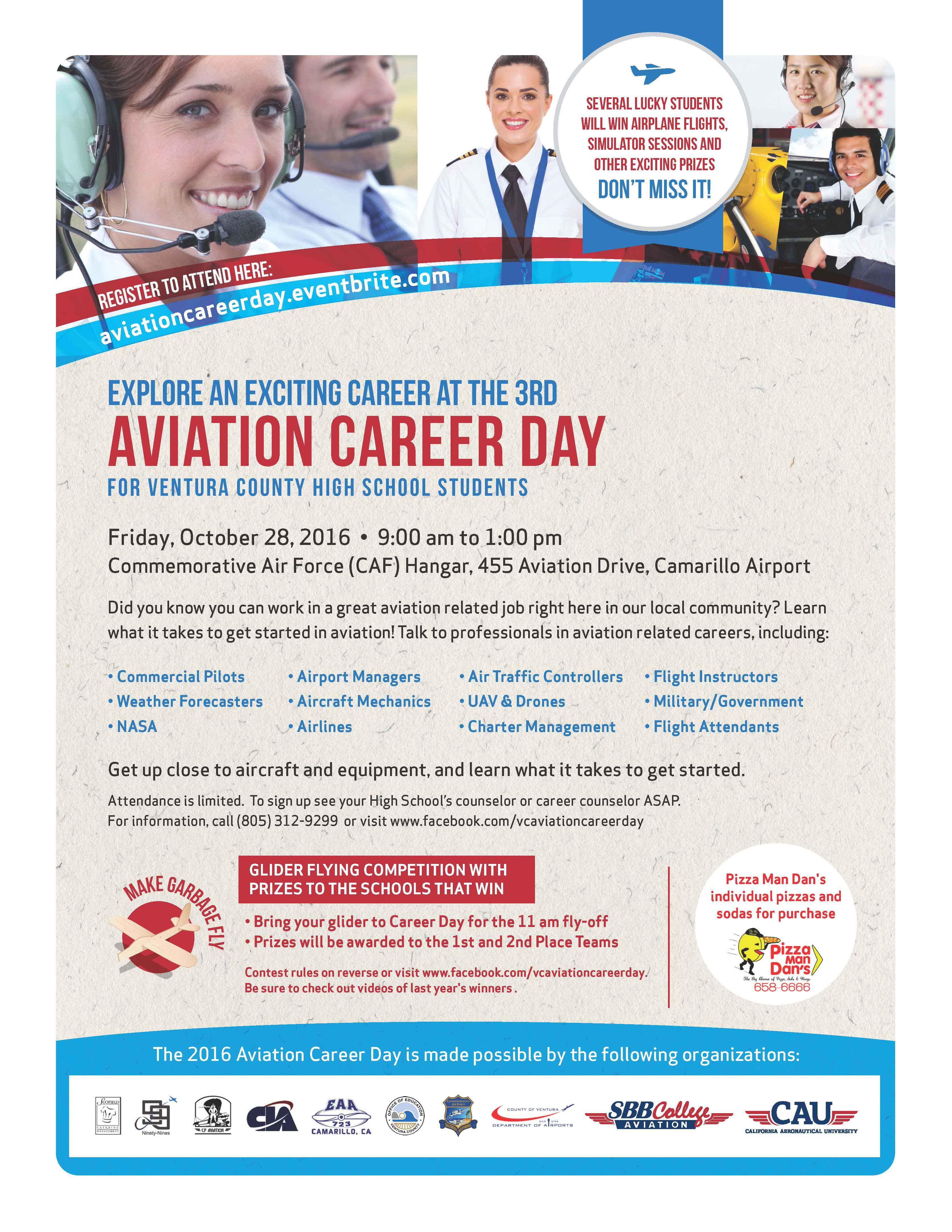 2016 AV Career Day Flyer