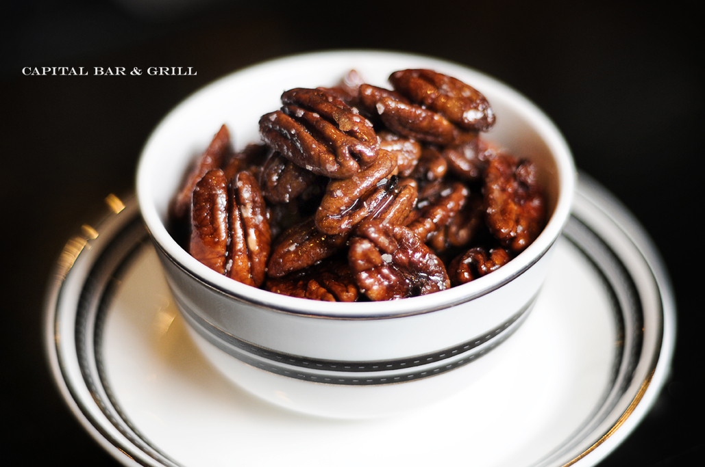 spiced pecans Capital Hotel