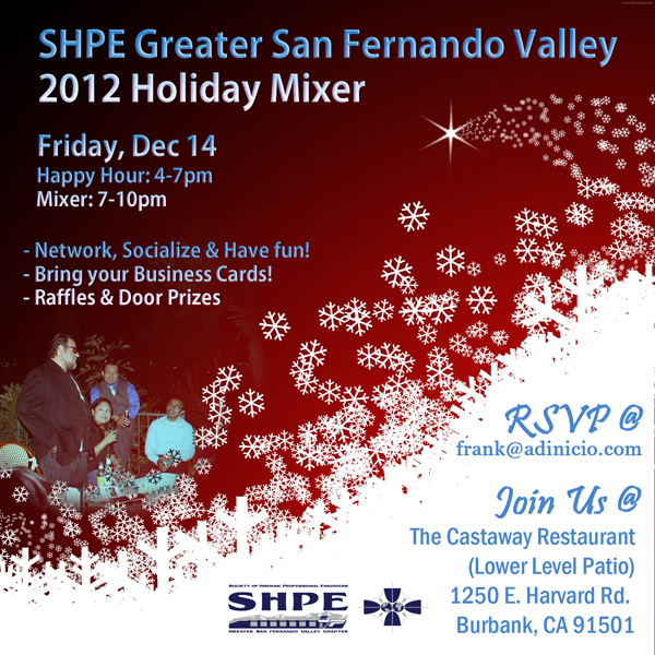 Holiday Mixer Flyer