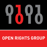 MAnchester open rights group logo