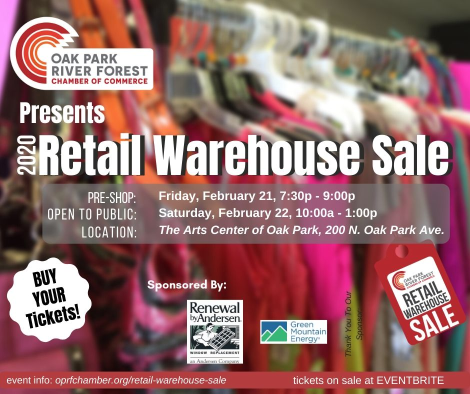 Retail Warehouse Sale Event Image