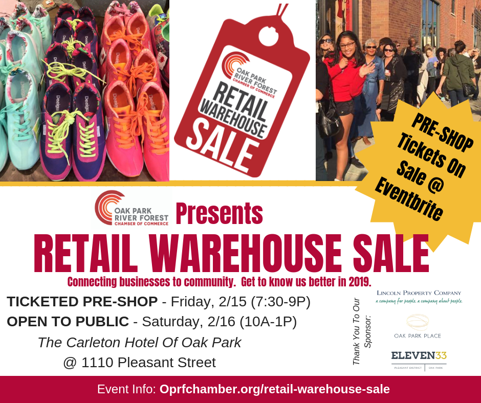 Retail Warehouse Sale