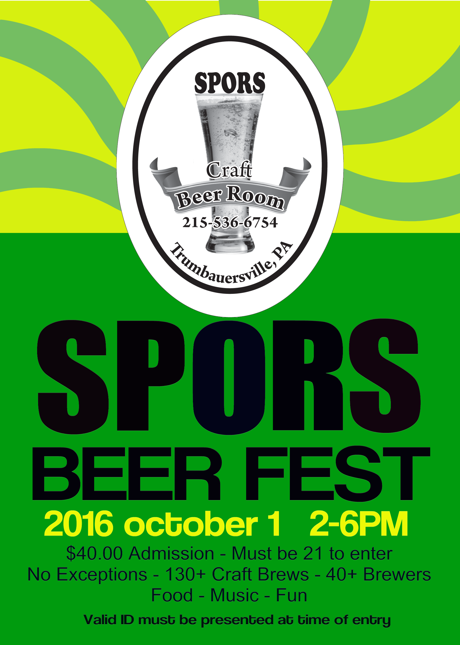 Spors General Store - Second Annual BeerFest