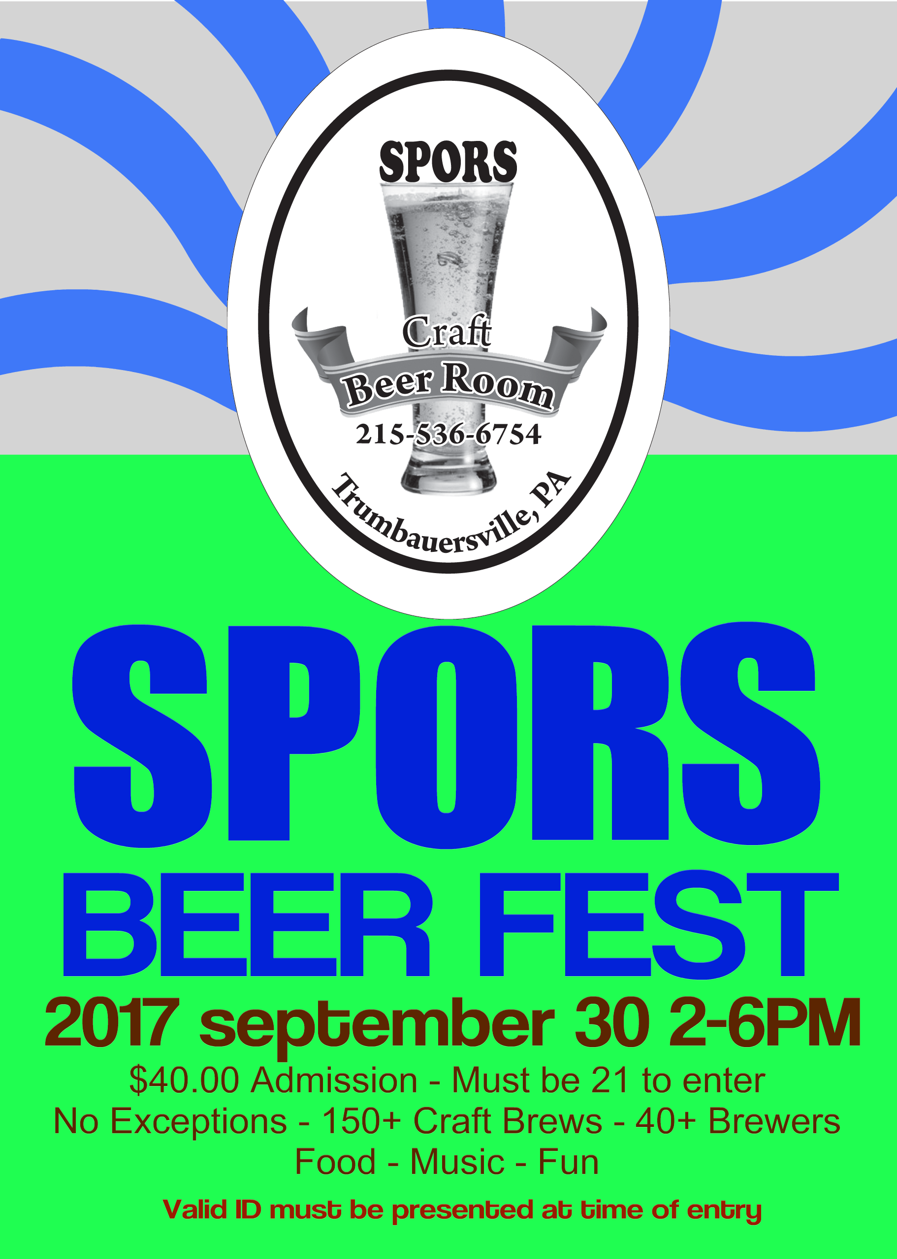 Spors Fourth Annual Beer Fest