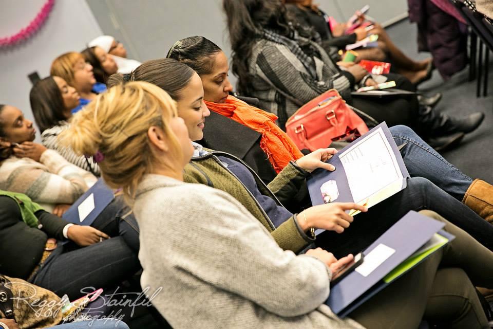 finance workshop at ACT LIKE A LADY THINK LIKE A BOSS EVENT #THINKLIKEABOSSNJ
