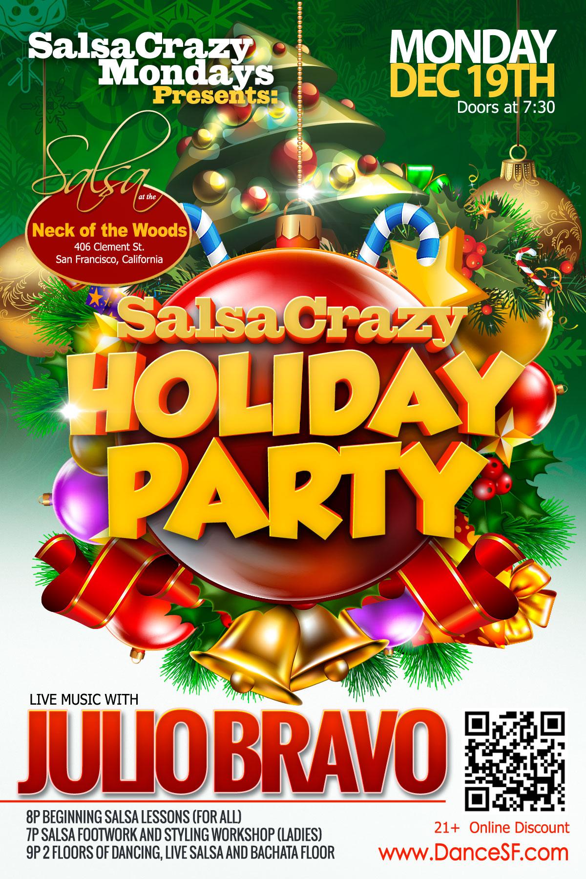 SalsaCrazy Mondays Holiday Party