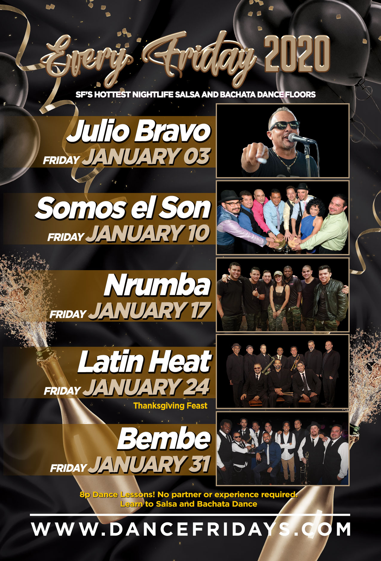 Dance Fridays - Salsa, Bachata y Mas