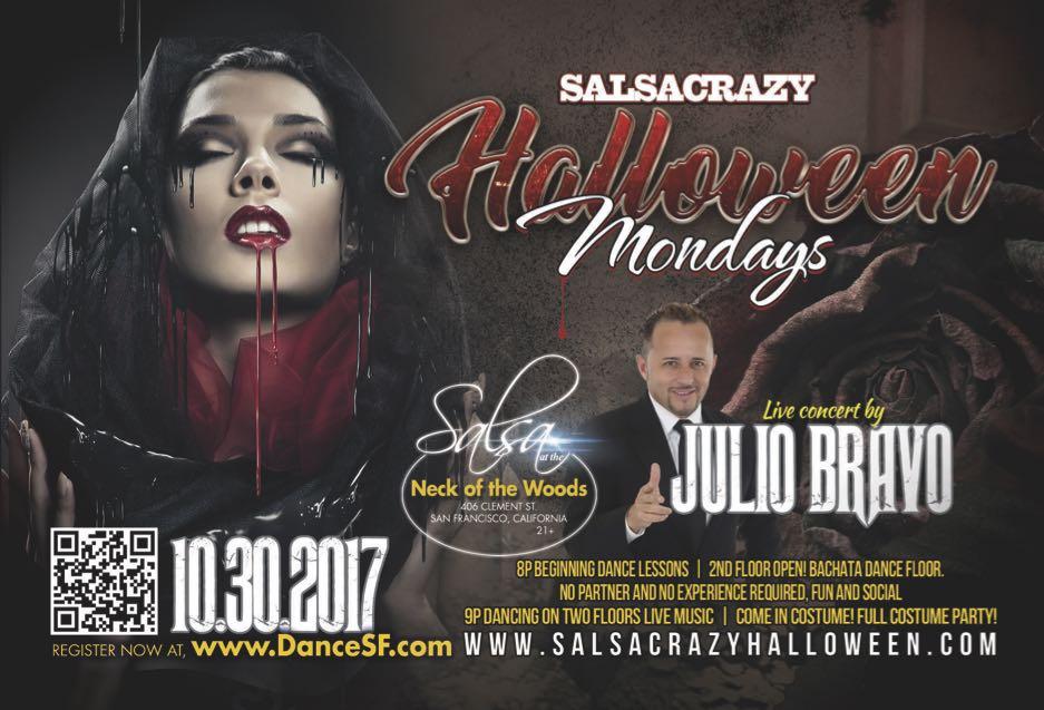 SalsaCrazy Halloween - Salsa Mondays Halloween Bash