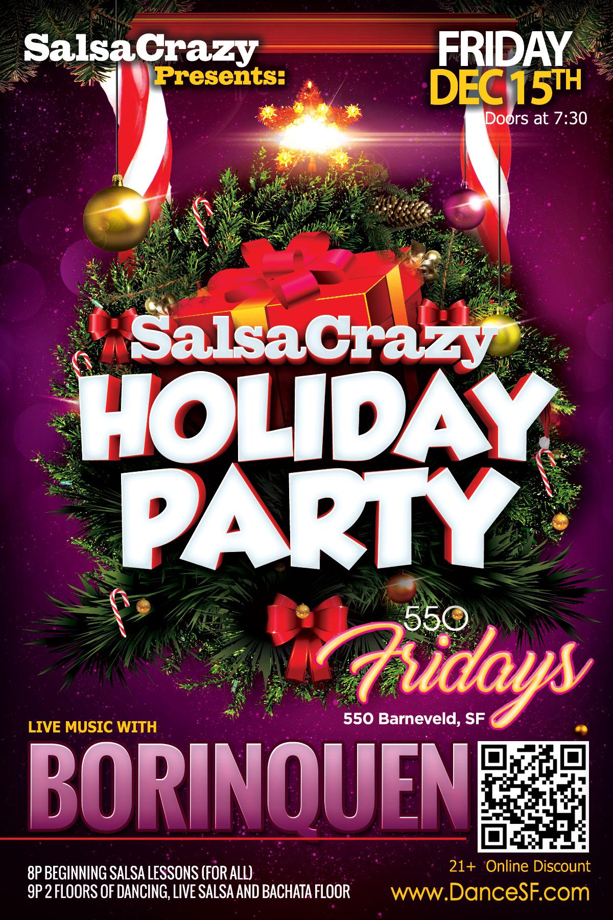 Dance Fridays, 550 Barneveld, SF, 21+ - www.DanceFridays.com