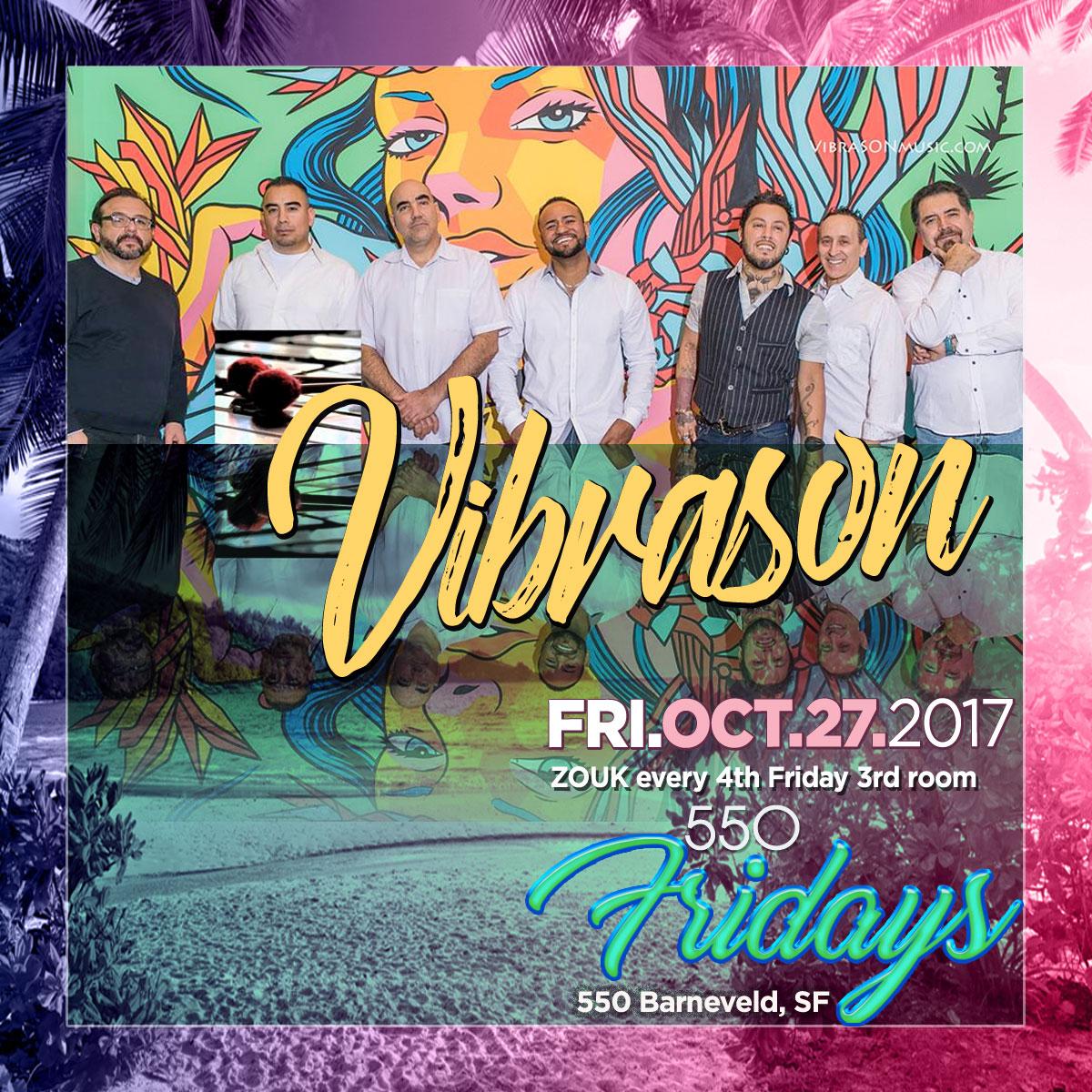 Dance Fridays at Space 550, 550 Barneveld, SF, 21+