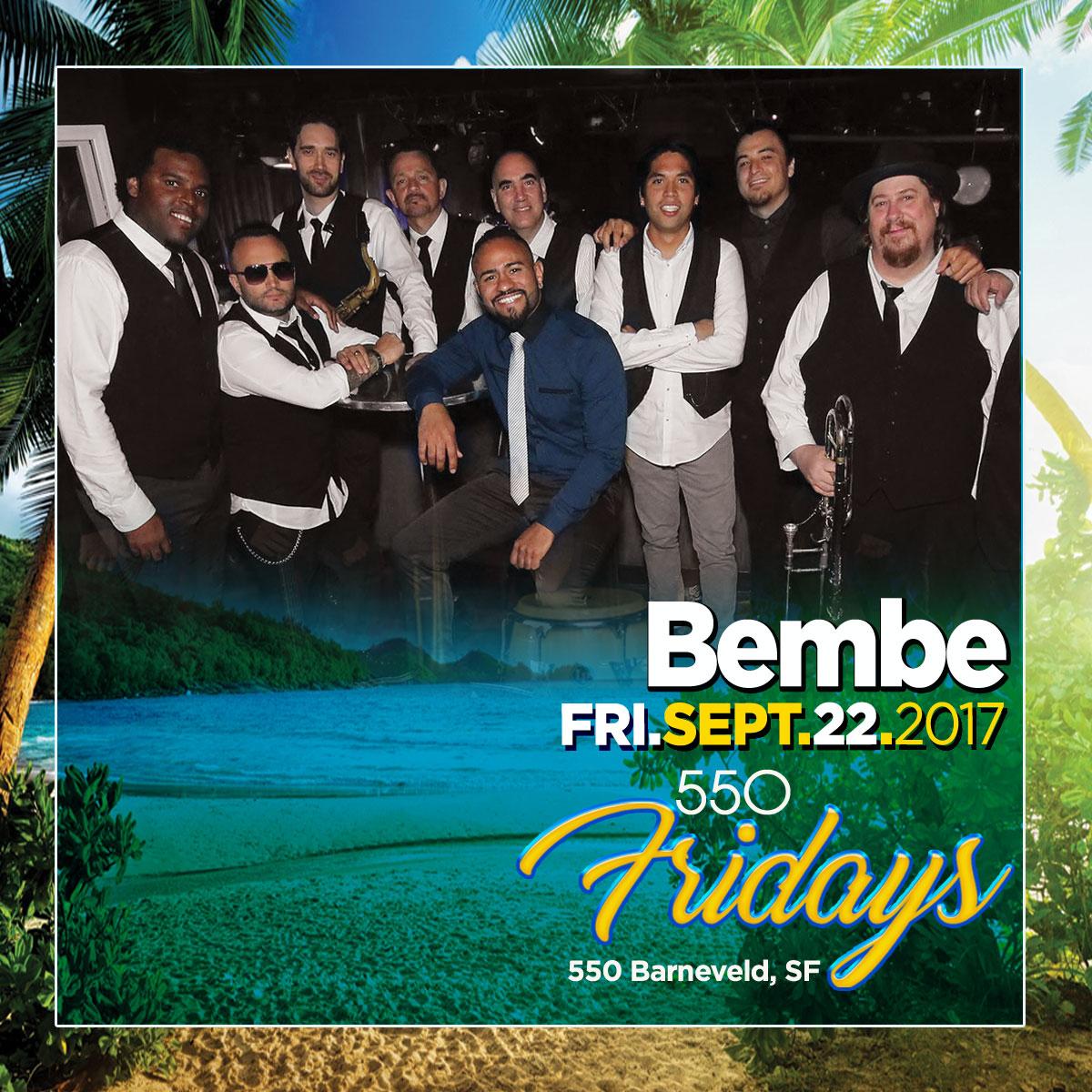 Dance Fridays, 550 Barneveld, SF, 21+. Salsa, Bachata y Mas, Dance Lessons at 8p