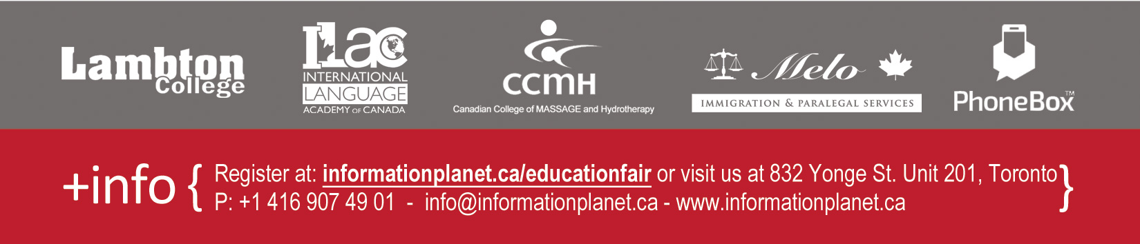Participating institutions: Lambton College - ILAC - CCMH - Melo Immigration