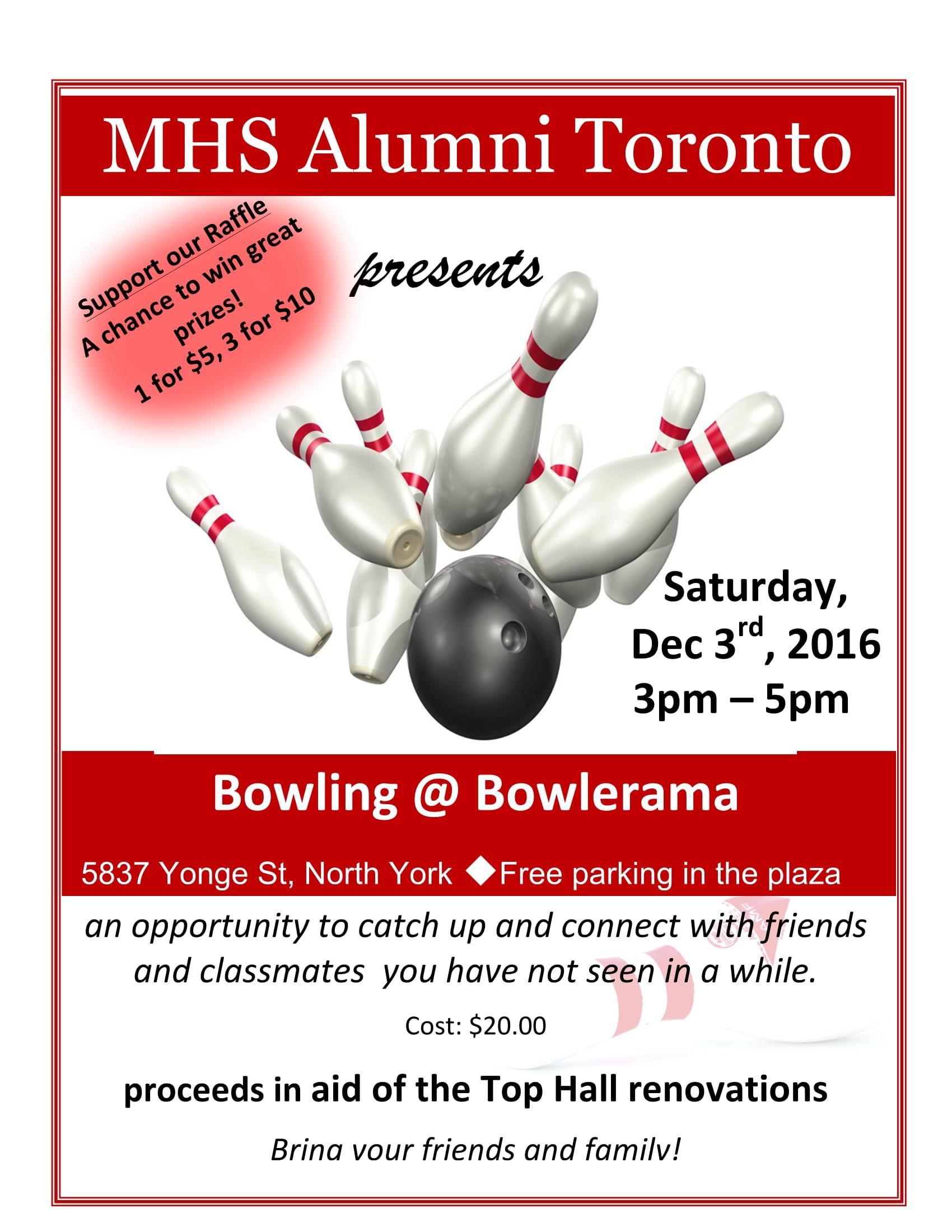 Manchester High School Alumni - Toronto