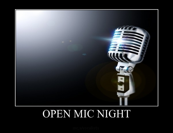 Picture of an Open Mic