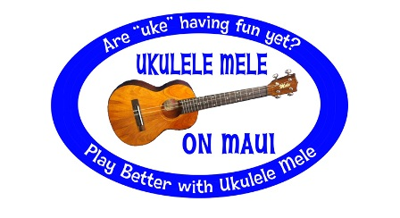 Ukulele Mele On Maui Logo