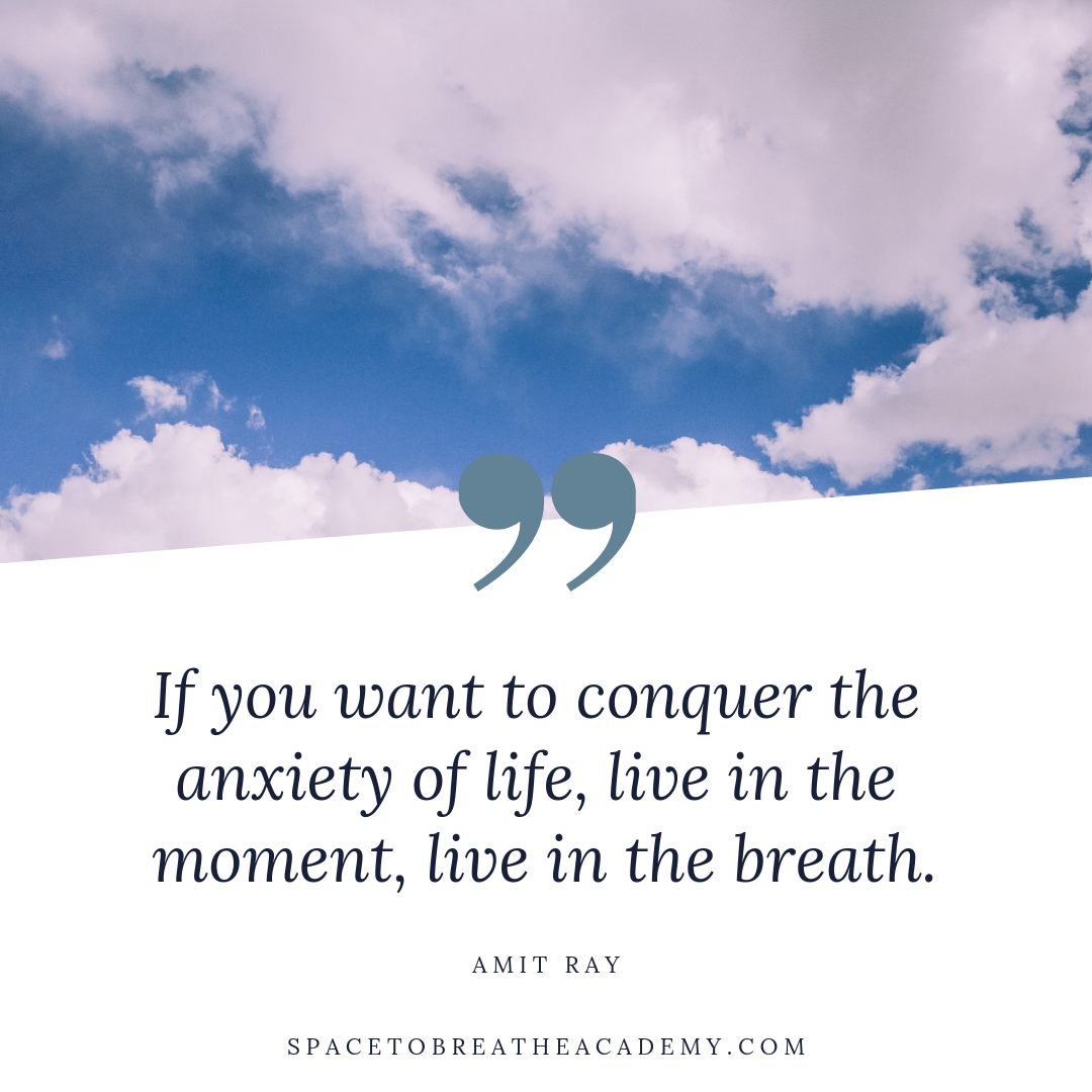 conquer anxiety breath amit ray
