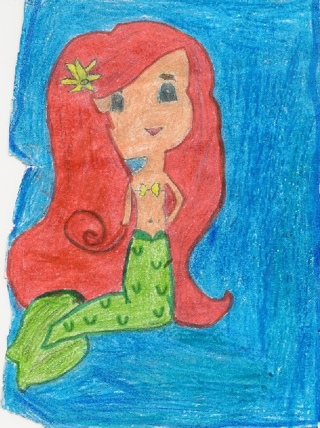 Little Mermaid Ticket Art