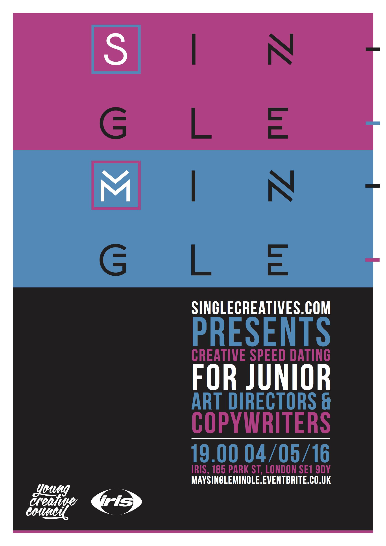 Single mingle poster