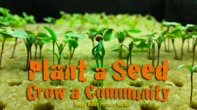 meet the farmer at happy valley farmers market utah - #growhealthyfood #foodisourfriend